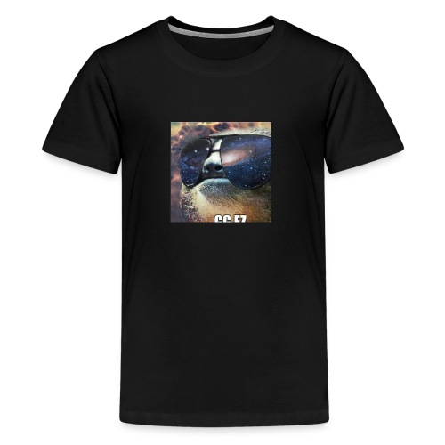 in space WOW - Teenager Premium T-shirt