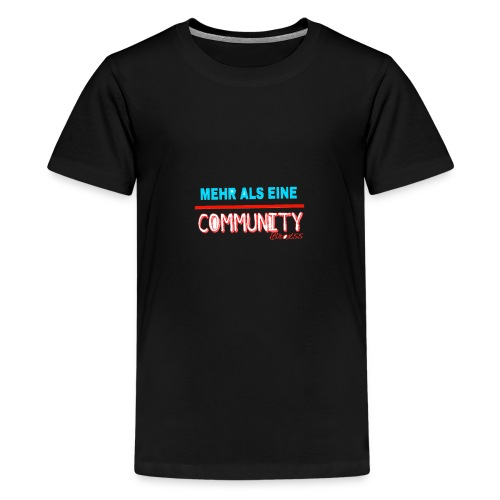 Meher als eine community - Teenager Premium T-Shirt