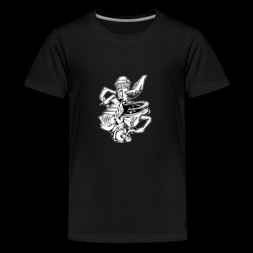 The Real HipHop Elements - Teenager Premium T-Shirt