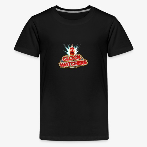 The Clockwatchers logo - Teenage Premium T-Shirt