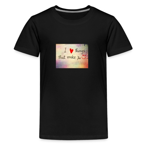liefdes t-shirts - Teenager Premium T-shirt