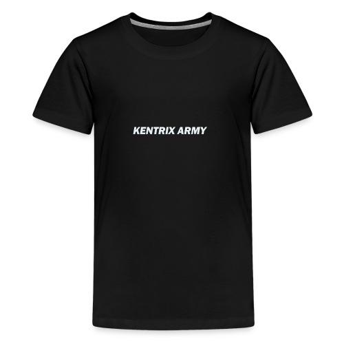 #KentrixArmy Logo - Teenage Premium T-Shirt
