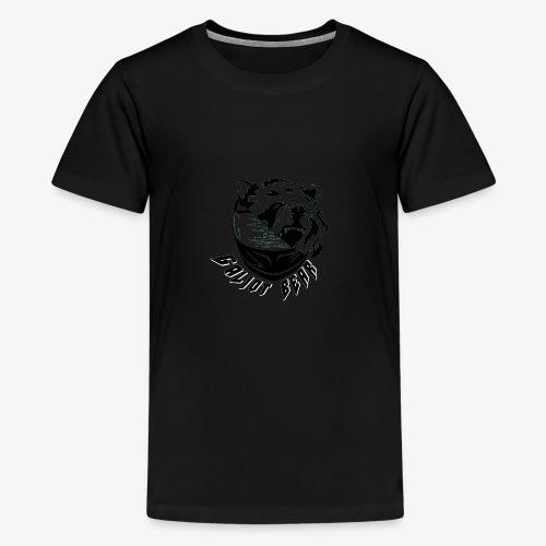 Galiot Bear Logo schwarz - Teenager Premium T-Shirt
