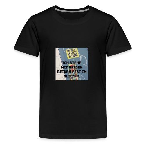 TechnoGlitzer - Teenager Premium T-Shirt