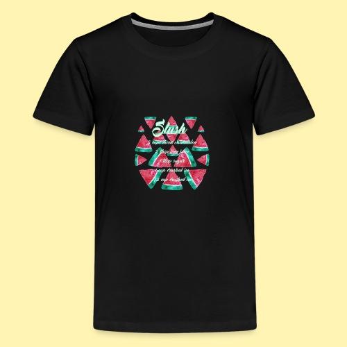 Wassermelonen Slush - Teenager Premium T-Shirt