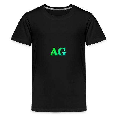 ATG Games logo - Teinien premium t-paita