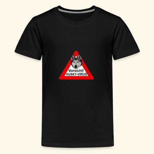 huskyvirus 1 - Teenager Premium T-Shirt