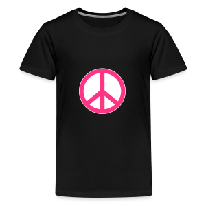 Peace, Love and Happiness - Teenager Premium T-shirt