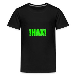 HAX-shirt by BOT SHELL - Teenager Premium T-Shirt