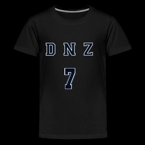 """DNZ"" COLLAGE STYLE - Premium-T-shirt tonåring"