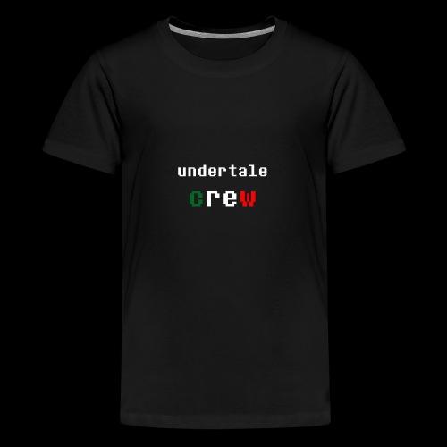 Collezione 3 Undertale Crew - Maglietta Premium per ragazzi