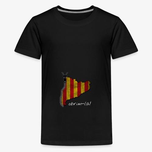 catalunyacremallerablancg - Camiseta premium adolescente