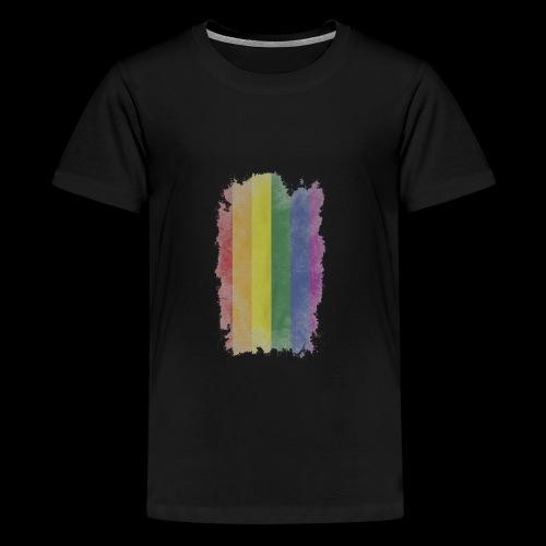 Bandera LGBTI - Camiseta premium adolescente