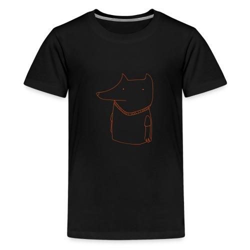 FoxShirt - Teenage Premium T-Shirt