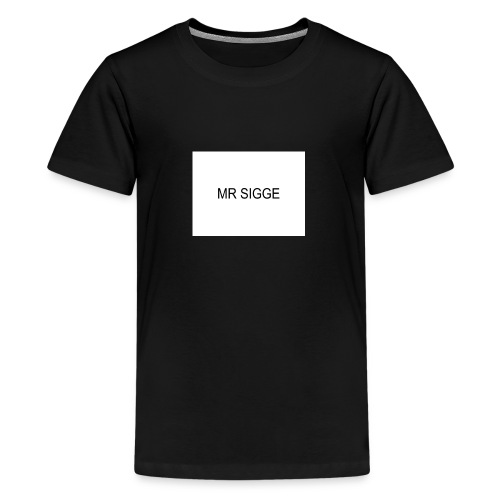MR SIGGE - Premium-T-shirt tonåring