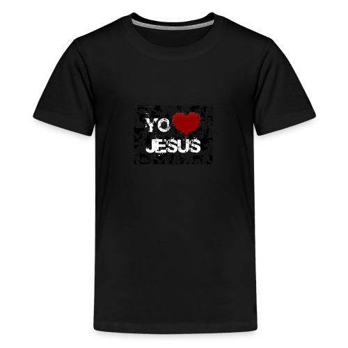 fondo cristiano - Camiseta premium adolescente