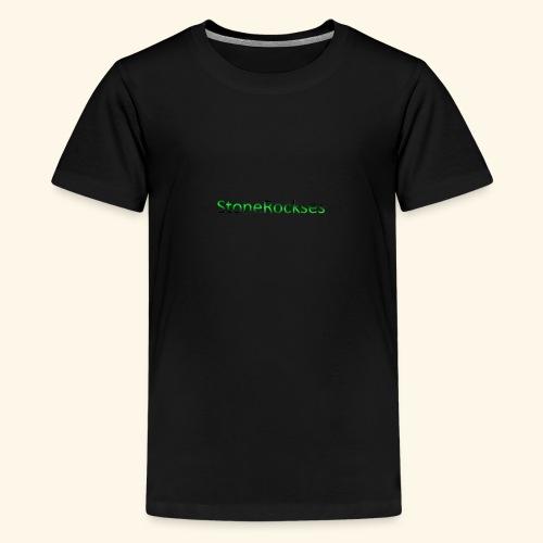 StoneRockses - Premium T-skjorte for tenåringer