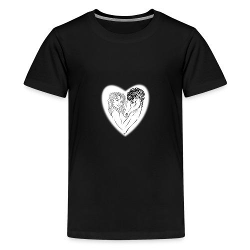 cavalière cheval passion ❤❤ FS - T-shirt Premium Ado