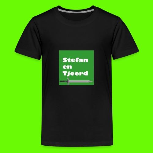 Stefan en Tjeerd - Teenager Premium T-shirt