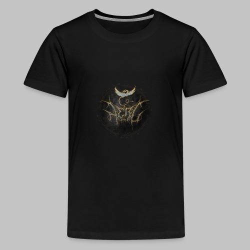 Herc Logo with writing - Teenage Premium T-Shirt