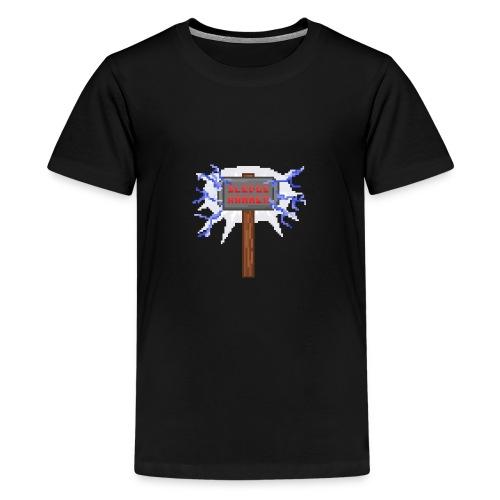 Sledge hammer Pixel - Premium-T-shirt tonåring