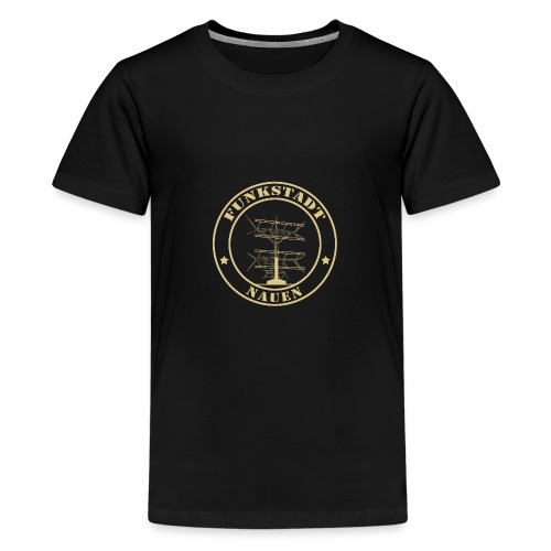 Goldener Funker - Teenager Premium T-Shirt