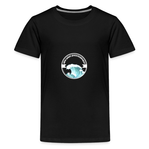 New Wave Entertainment Logo T-Shirt [Support Us] - Teenage Premium T-Shirt
