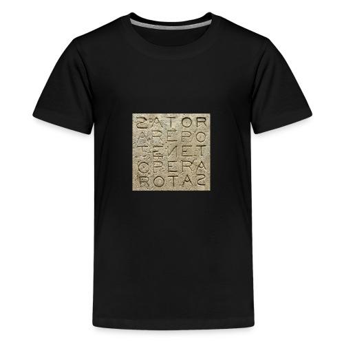 Quadrato Sator - Maglietta Premium per ragazzi