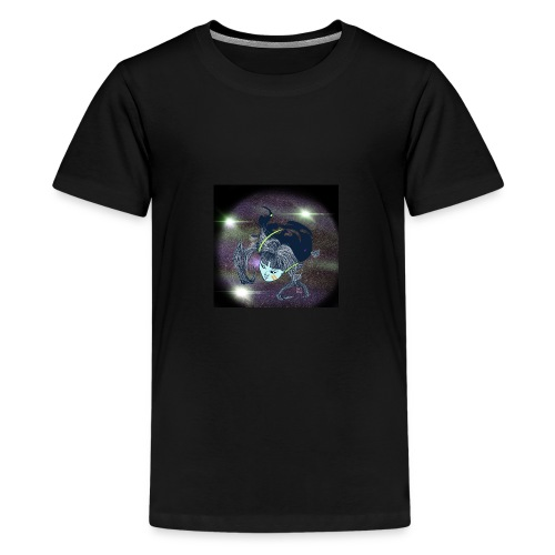 the Star Child - Teenage Premium T-Shirt