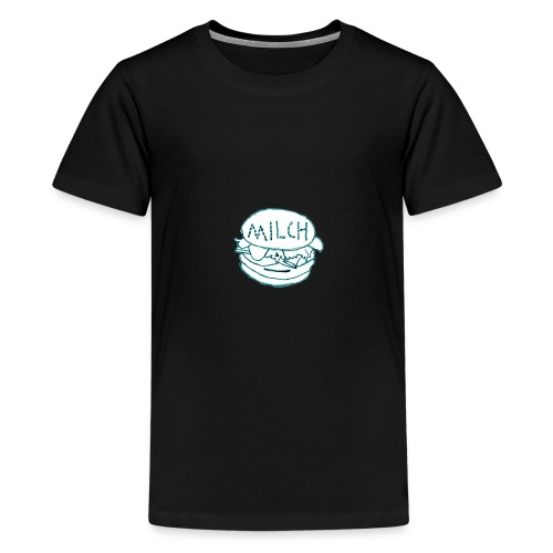 Offizieller Milchburger Merch - Teenager Premium T-Shirt