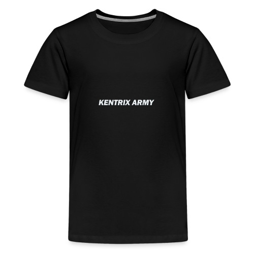 #KentrixArmy Logo - Teenage Premium T-Shirt