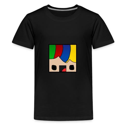 ProfSaurusCartoon - Teenager Premium T-Shirt