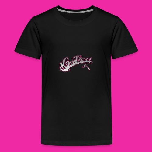 Logo Grautoene neu1 jpgshop - Teenager Premium T-Shirt