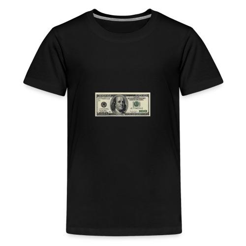 dollar - Premium T-skjorte for tenåringer