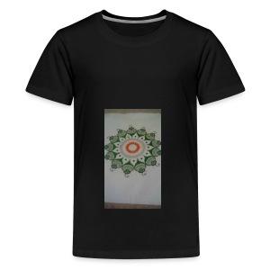 Freehand pattern by josef - Teenage Premium T-Shirt