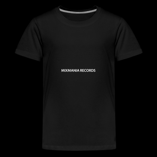 MIXMANIA RECORDS WHITE - Teenage Premium T-Shirt