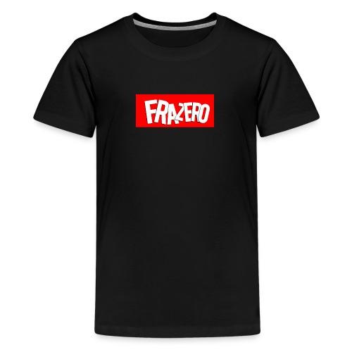 FRAZERO RED BOX DESIGN - Teenage Premium T-Shirt