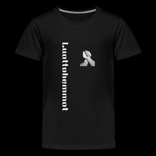 Luottohemmot 2.0 - Teinien premium t-paita