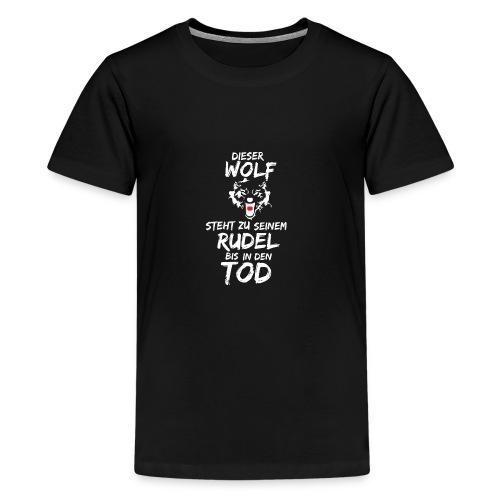 Wolf T Shirt Hoodie Sweatshirt Pullover - Teenager Premium T-Shirt