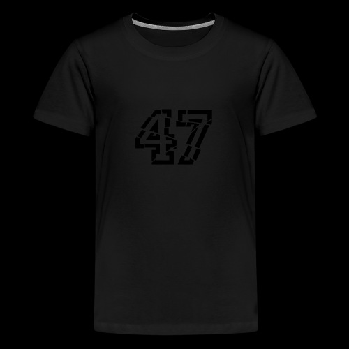 47 broken - Teenager Premium T-Shirt