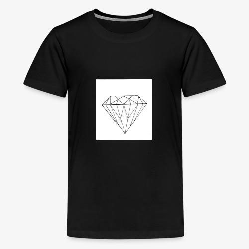 Diamant - T-shirt Premium Ado