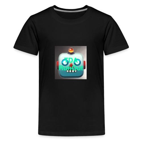 RoboRun V2 - Premium T-skjorte for tenåringer