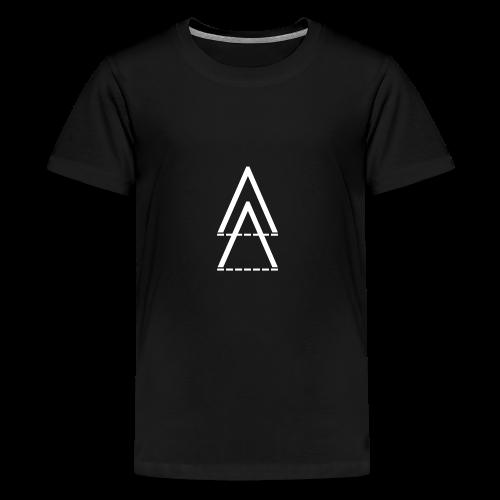 Dinorainbowgirlmusic - Premium-T-shirt tonåring