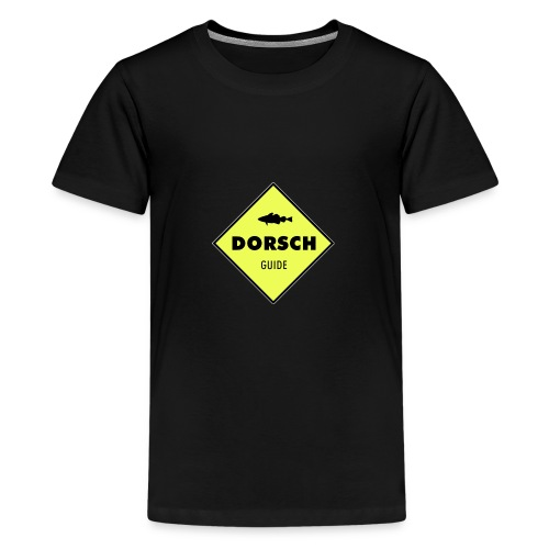 Logo Dorschguide - Teenager Premium T-Shirt