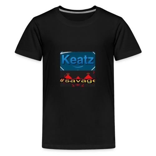 Savage Keatz - Teenage Premium T-Shirt