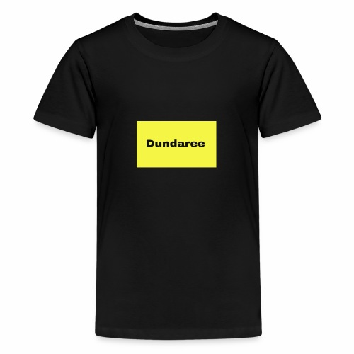 yellow & black dundaree gear - Teenage Premium T-Shirt