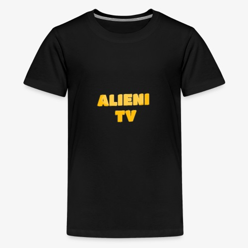 AlieniTv T-Shirt - Teenage Premium T-Shirt