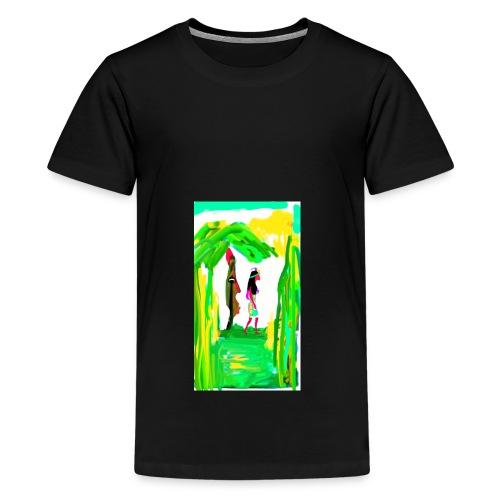 Dschungel - Teenager Premium T-Shirt