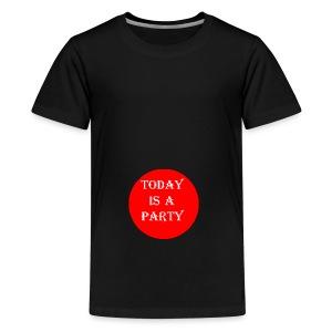 today - T-shirt Premium Ado