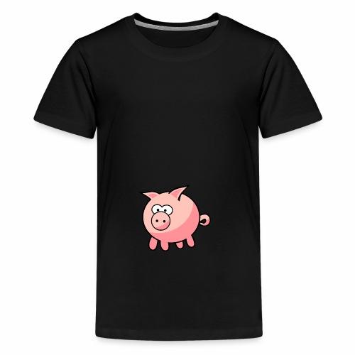 PiggyGamer - Teenage Premium T-Shirt